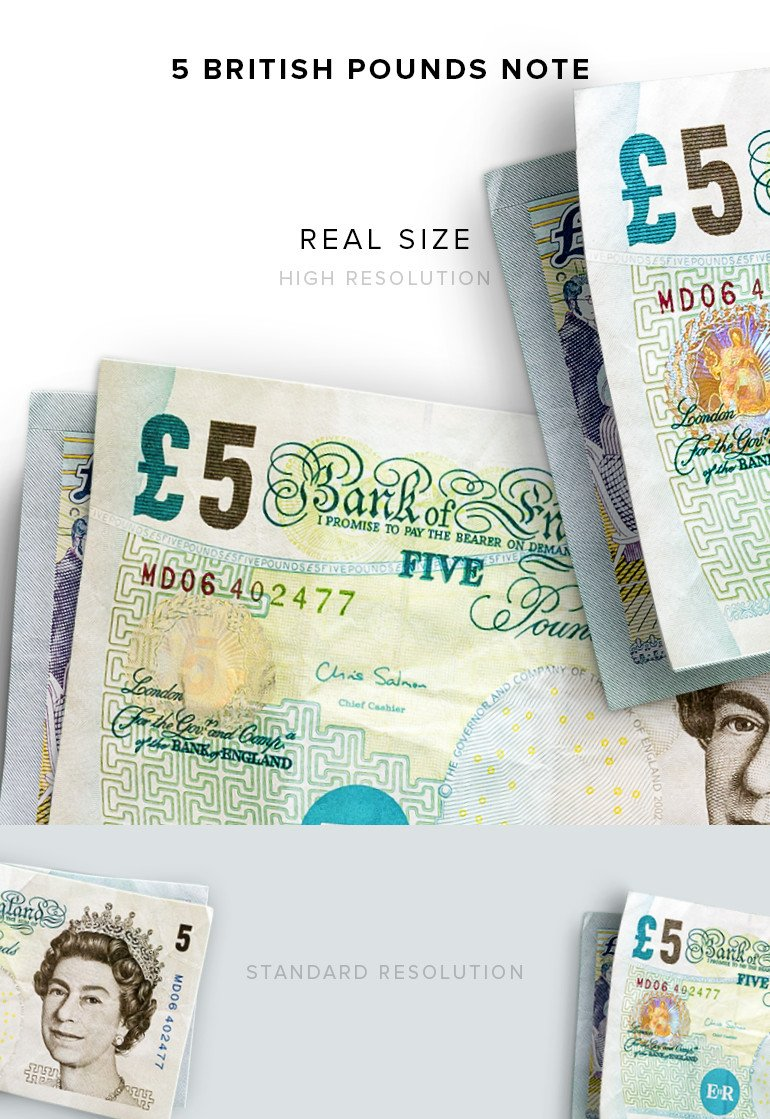 money-5-notes-british-pounds