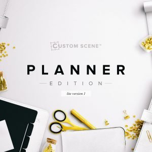 This edition includes all of the essential items you would expect to find on the well styled desktop of a blogger, or for the individual who loves to get organized with the help of beautifully designed stationery and planners, with a metallic, feminine twist. Our most comprehensive and customisable edition yet means you can truly reflect your brand and communicate your message. Anyone who appreciates the minimal design aesthetic, with a soft spot for modern metals and feminine accessories will find the Planner Edition a vital addition to their design resources.